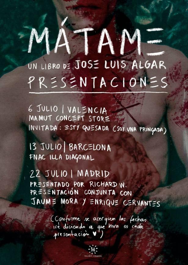 Mátame - Algar (presentaciones)